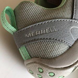 Merrell performance wild dove/green ash sneakers